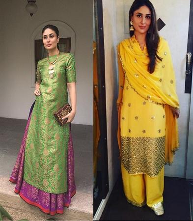 Kareena Kapoor Palazzos Ethnic Kurta