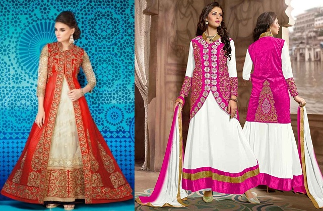 long jackets over salwar suits