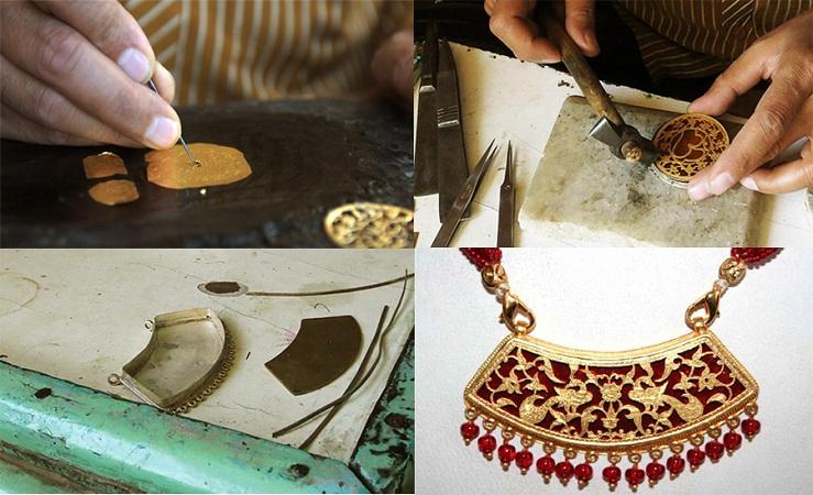 Making of Thewa Jewellery