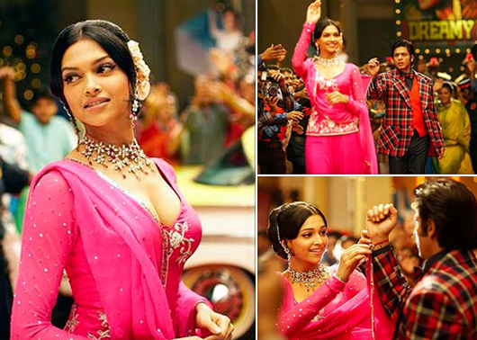 Om Shanti Om Deepika Padukone  Anarkali Dress