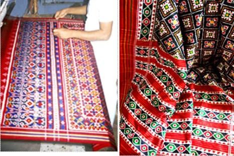 Patola Saree Making