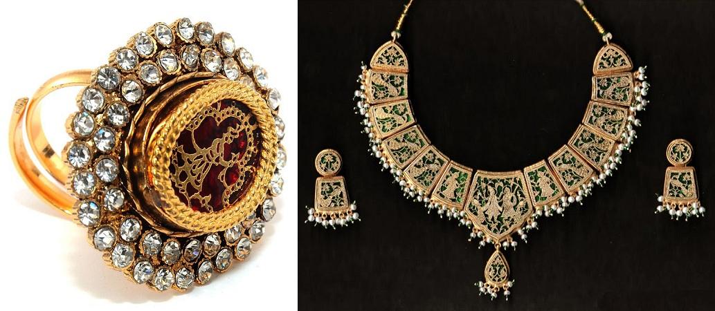 Themes of Thewa Jewellery