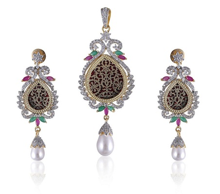 Thewa Jewellery With Diamonds
