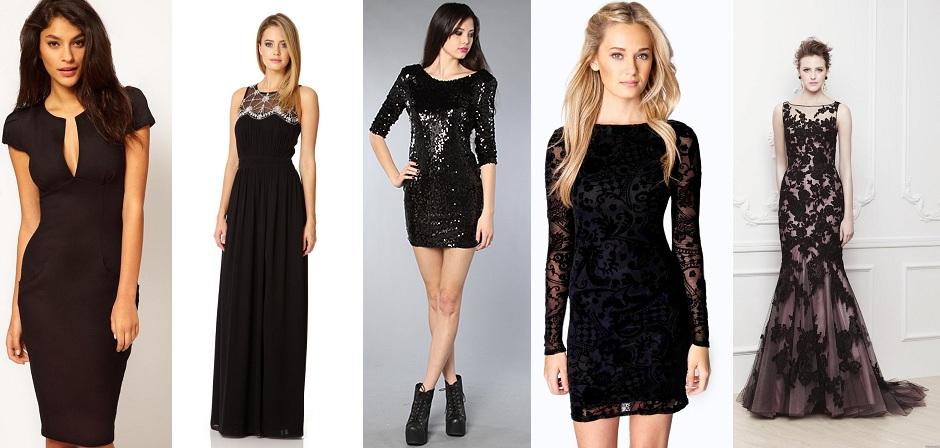 Black Western Dresses