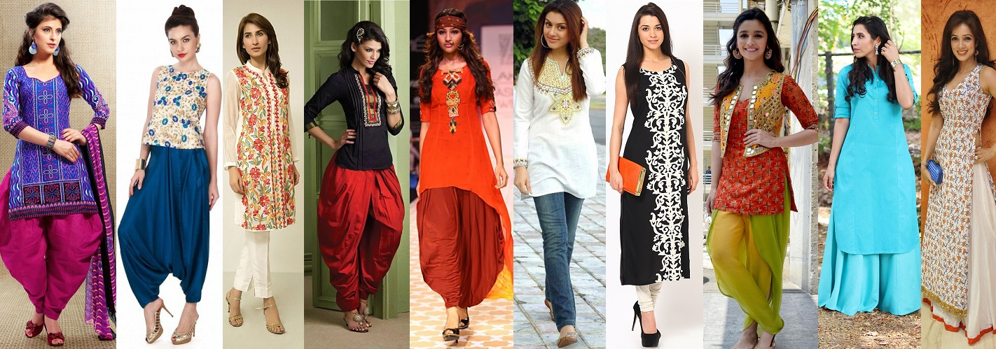 Bottom Pairs to wear with a Kurti