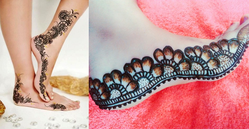 Border Mehendi Designs