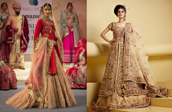 Bridal Jacket Lehengas