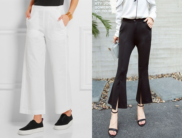 Cropped-Mid-Rise-Flare-Trouser