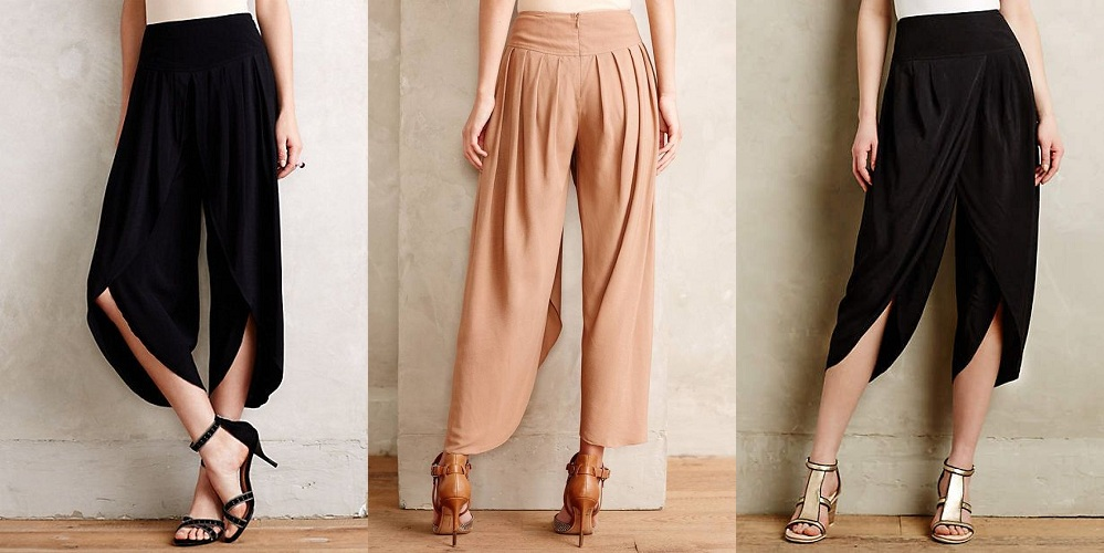 Cropped Tulip Trousers Online