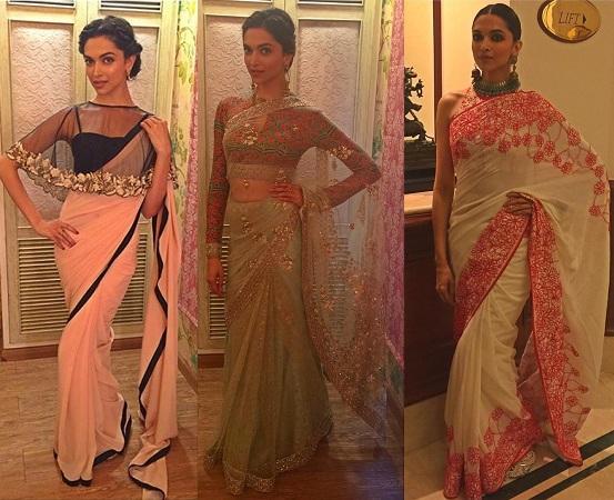 Deepika Padukone Gorgeous Sarees