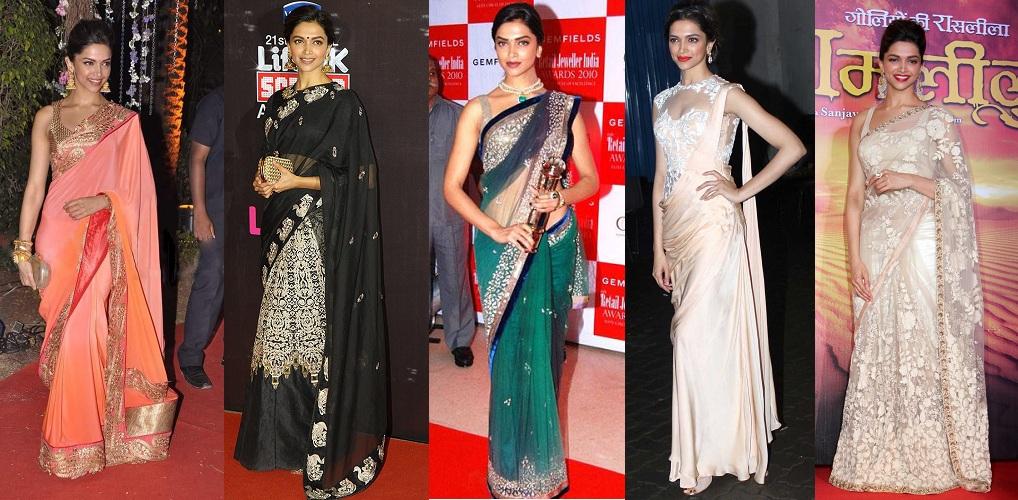 Deepika Padukone Latest Sarees