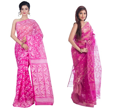 Dhakai Jamdani Saree Design