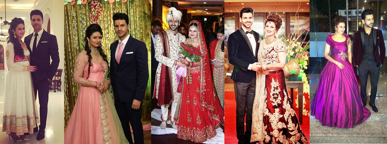 Divyanka Tripathi Wedding Styles