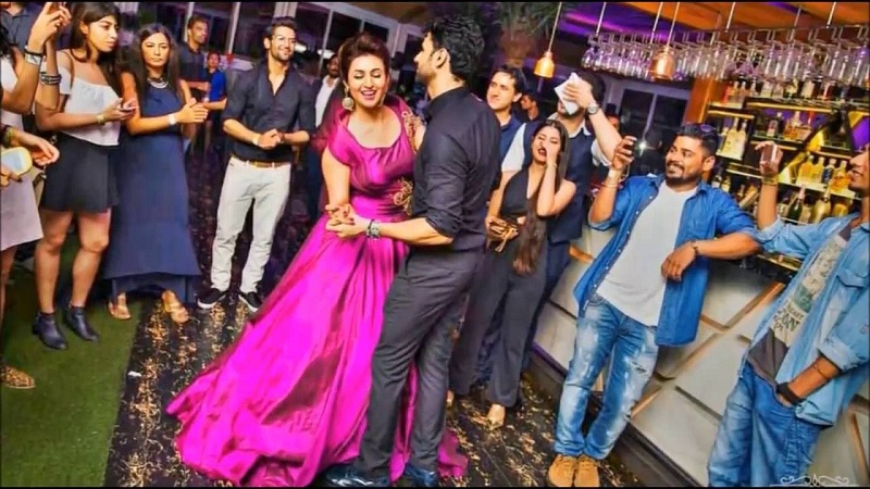 Divyanka  Vivek Reception Dance