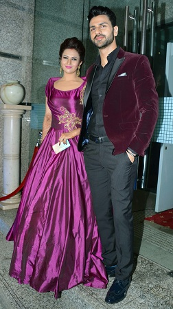Divyanka  Vivek Reception Party