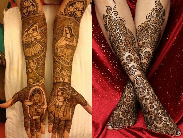 Mehendi Design For Bride