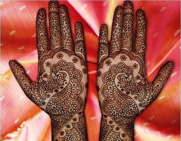 Peacock Floral Mehendi Design