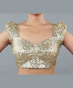 Princess sequined blouse design