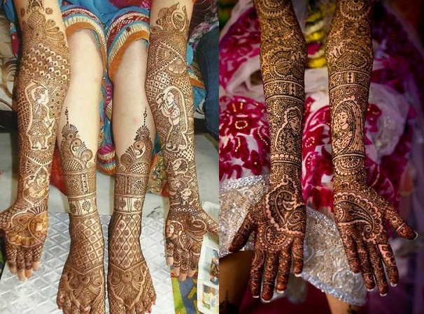 Rajasthani Themed Mehendi Design