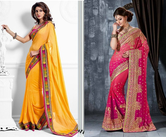 Soft Finsihed Crepe Saree