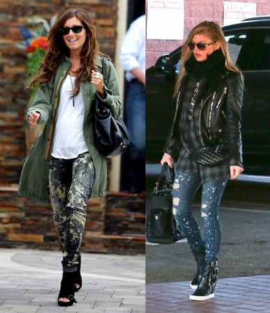 splatter-jeans