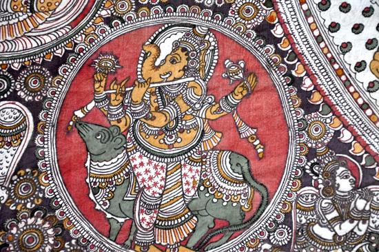 Srikalahasti Kalamkari Work