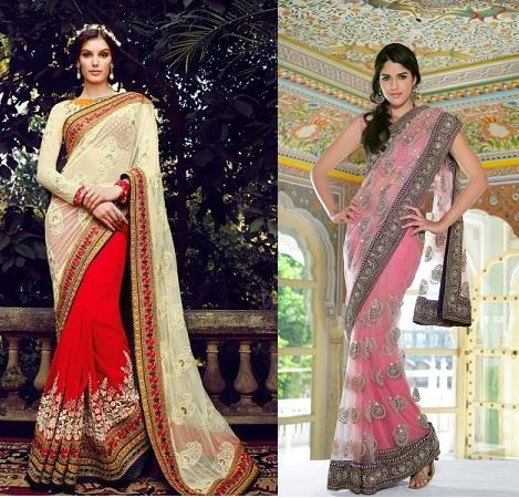 Super Net Sarees For Wedding