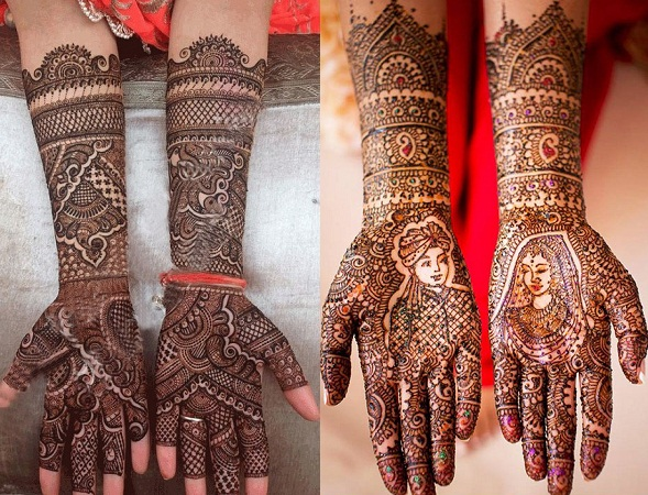Traditional Bridal Mehendi Design