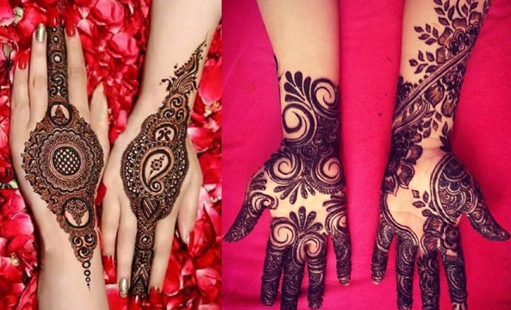 Unique Mehendi Design