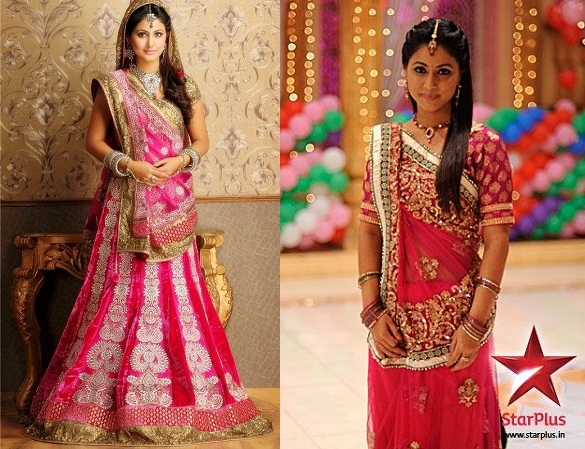 Akshara Dresses in Serial