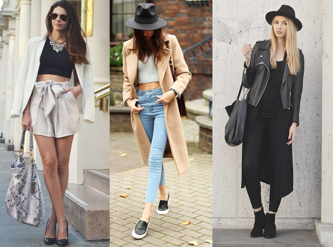 Crop Tops With Your Blazer
