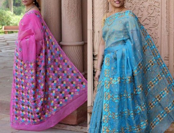 cotton-phulkari-saree