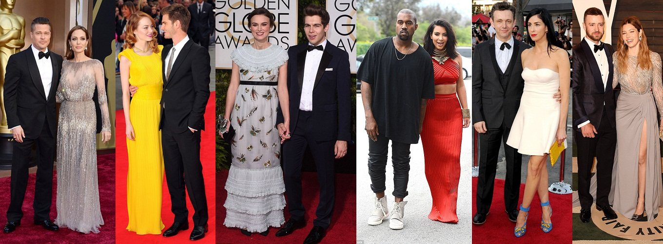 6 Most Fashionable Celeb Couples