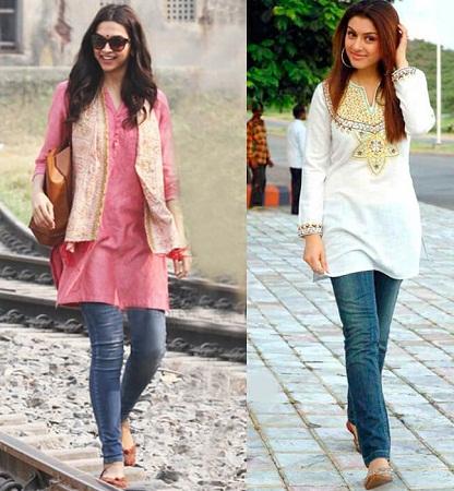 jeans-and-kurti-pair