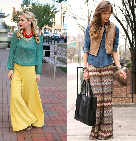 Accessories With Palazzo Pants