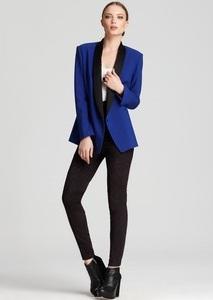 Blazer with leggings