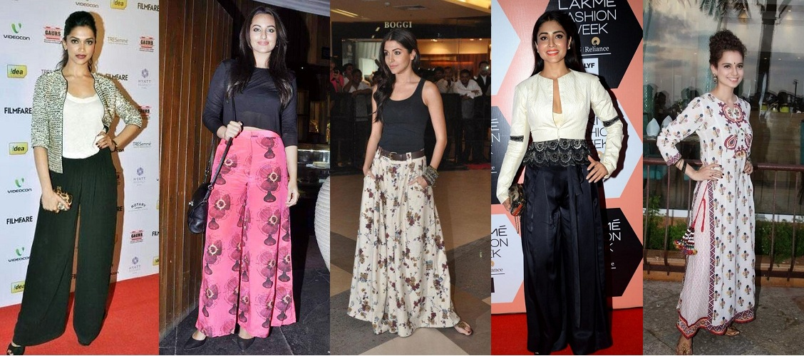 Bollywood Celebs in Palazzo Pants