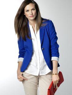 Bright Colour Blazer
