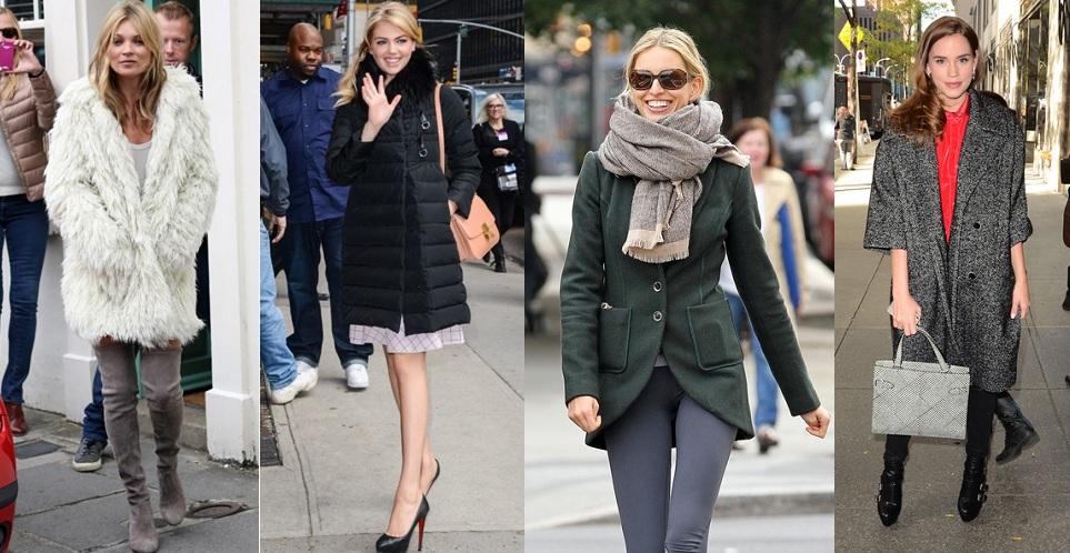 Celebs in Winter Coats