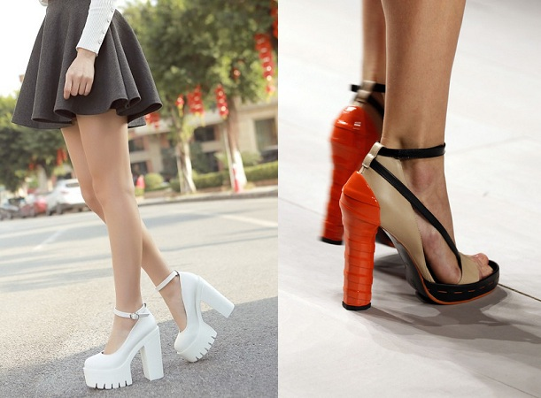 chunky-heels-for-women