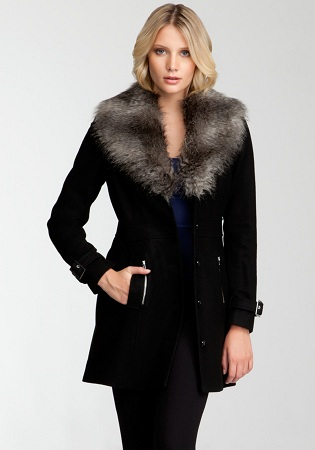 Coat With Furry Jacket