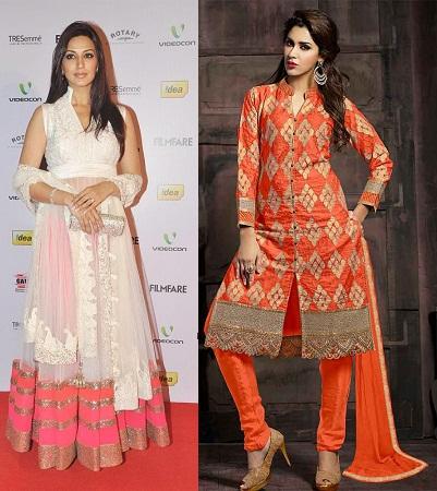 Collar Neck Salwar Suits