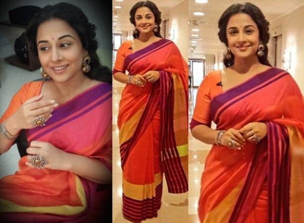 Vidya Balan in Cotton Saree