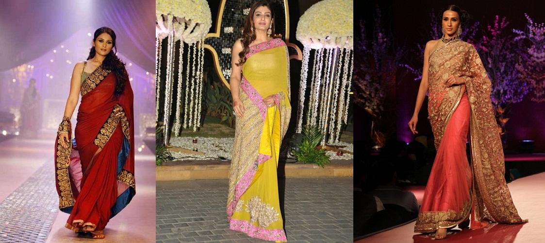 Designer Sarees By Manish Malhotra Fashionbuzzer Com