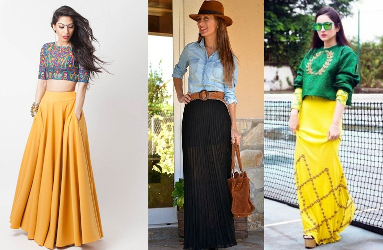 Draping The Ethnic Skirt