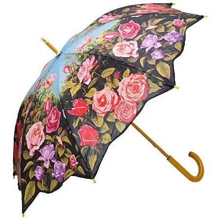 floral-printed-umbrella