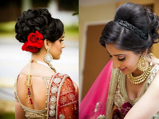 hairstyle-of-indian-brides