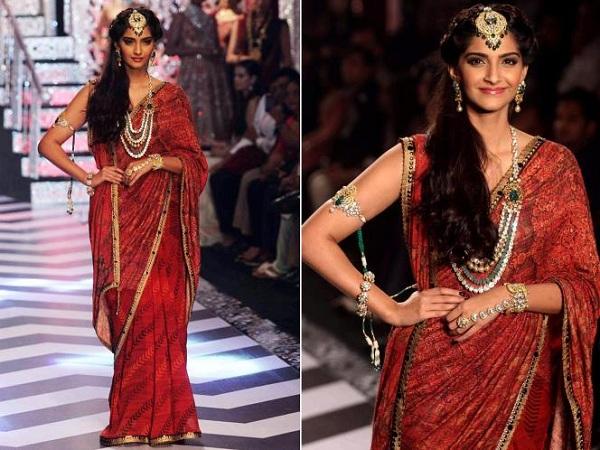 J J Valaya Designer Saree