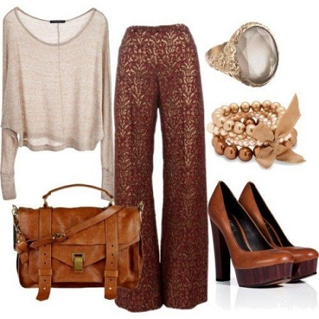 palazzo-pants-with-a-tank-blazer-and-heels