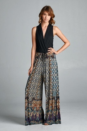 Palazzos as Jumpsuit
